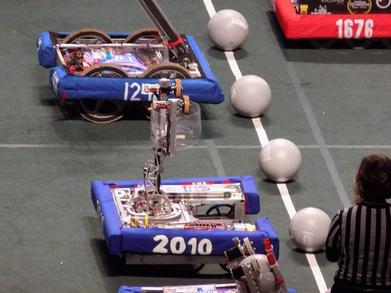Robot Before Match at Buckeye 2016